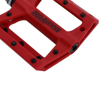 SCUDGOOD SG - 1512B Bike PedalBike Parts<br>SCUDGOOD SG - 1512B Bike Pedal<br><br>Package Contents: 1 x Pair of Bicycle Pedals<br>Package Size(L x W x H): 12.00 x 11.20 x 5.70 cm / 4.72 x 4.41 x 2.24 inches<br>Package weight: 0.4120 kg<br>Product Size(L x W x H): 10.70 x 12.20 x 1.60 cm / 4.21 x 4.8 x 0.63 inches<br>Product weight: 0.3550 kg<br>Use: BMX, Mountain Bikes, Road Bicycles