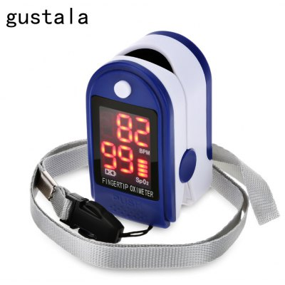 gustala Instant Read Digital Fingertip Pulse Oximeter