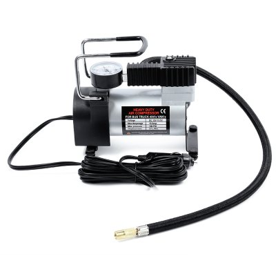 12V Car Electric Inflator Pump Single-cylinder Air CompressorCar Inflatable Pump<br>12V Car Electric Inflator Pump Single-cylinder Air Compressor<br><br>Package Contents: 1 x Car Tire Air Compressor, 3 x Nozzle Adapter, 1 x English and Chinese User Manual<br>Package Size(L x W x H): 20.60 x 13.00 x 16.30 cm / 8.11 x 5.12 x 6.42 inches<br>Package weight: 1.0860 kg<br>Product Size(L x W x H): 15.60 x 8.00 x 14.50 cm / 6.14 x 3.15 x 5.71 inches<br>Product weight: 0.9260 kg