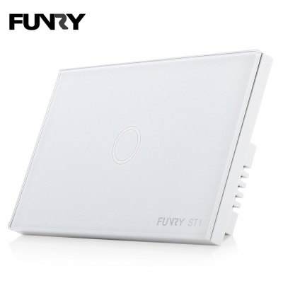 FUNRY ST1 Smart Touch Screen Light Switch 1 Gang 1 Way