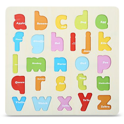 Letter Block Puzzle Educational Toy