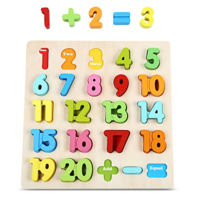 Number Block Puzzle Educational Toy