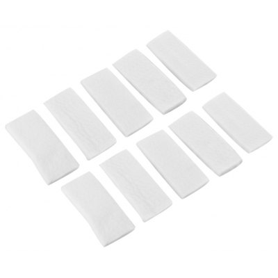10pcs Window Double Side Glass Wiper Cleaning Pad
