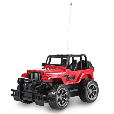1:24 Vehicle Remote Control Car Off-road Jeep SUV Electric ToyRC Cars<br>1:24 Vehicle Remote Control Car Off-road Jeep SUV Electric Toy<br><br>Age Range: &gt; 3 years old<br>Control Channels: 4 Channels<br>Material: Plastic<br>Package Contents: 1 x Remote Car, 1 x Remote Controller<br>Package Size(L x W x H): 30.00 x 20.00 x 15.00 cm / 11.81 x 7.87 x 5.91 inches<br>Package weight: 0.5200 kg<br>Product weight: 0.3330 kg<br>Remote Control: Yes