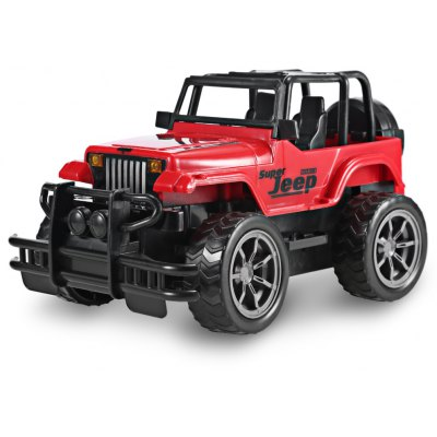 1:24 Vehicle Remote Control Car Off-road Jeep SUV Toy