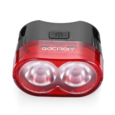 Gaciron W09 60LM 2-LED Waterproof Bike Smart Rear LampSmart Riding Equipments<br>Gaciron W09 60LM 2-LED Waterproof Bike Smart Rear Lamp<br><br>Package Contents: 1 x Bike Tail Light, 1 x USB Cable, 1 x Sticking Paper, 1 x Bracket, 1 x Rubber Band, 1 x User Manual in English and Chinese<br>Package Size(L x W x H): 9.50 x 8.00 x 4.50 cm / 3.74 x 3.15 x 1.77 inches<br>Package weight: 0.1200 kg<br>Product weight: 0.0740 kg