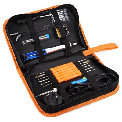 60W 220V Electronic Soldering Iron Kit with Carry Case