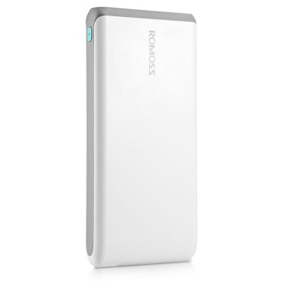 ROMOSS Arrow 20 20000mAh Portable Power Bank Dual USBPower Banks<br>ROMOSS Arrow 20 20000mAh Portable Power Bank Dual USB<br><br>Battery Capacity(mAh): 15001-20000<br>Package Contents: 1 x Power Bank, 1 x Micro USB Cable<br>Package Size(L x W x H): 19.60 x 13.10 x 2.50 cm / 7.72 x 5.16 x 0.98 inches<br>Package weight: 0.5220 kg<br>Product Size(L x W x H): 16.00 x 8.00 x 2.00 cm / 6.3 x 3.15 x 0.79 inches<br>Product weight: 0.4350 kg