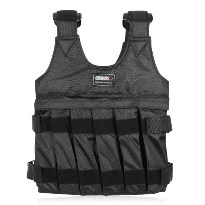 SUTENG 50kg Max Loading Weighted VestSports Protective Gear<br>SUTENG 50kg Max Loading Weighted Vest<br><br>Color: Black<br>Package Contents: 1 x  Loading Weighted Vest, 12 x Pouch<br>Package Size(L x W x H): 46.00 x 31.00 x 6.00 cm / 18.11 x 12.2 x 2.36 inches<br>Package weight: 0.8920 kg<br>Product Size(L x W x H): 44.00 x 30.00 x 5.00 cm / 17.32 x 11.81 x 1.97 inches<br>Product weight: 0.7200 kg<br>Type: Loading Weighted Vest