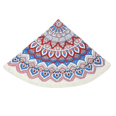 150 x 150cm Round Tassel Tapestry Bohemian Beach Towel MatCrafts<br>150 x 150cm Round Tassel Tapestry Bohemian Beach Towel Mat<br><br>Color: Colormix<br>Material: Polyester<br>Package Contents: 1 x Bohemian Beach Towel<br>Package Size(L x W x H): 35.00 x 30.00 x 1.00 cm / 13.78 x 11.81 x 0.39 inches<br>Package weight: 0.2270 kg<br>Product Size(L x W x H): 150.00 x 150.00 x 0.10 cm / 59.06 x 59.06 x 0.04 inches<br>Product weight: 0.2000 kg<br>Weight: 0.2270kg