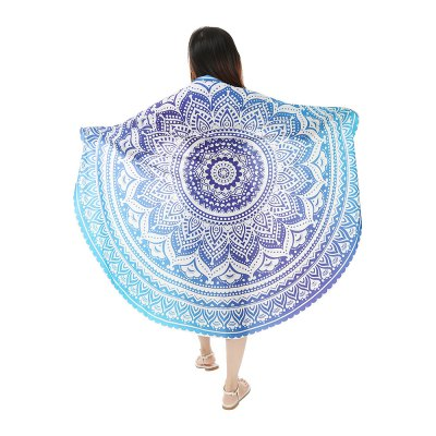 148x 148cm Round Chiffon Tapestry Bohemian Beach TowelCrafts<br>148x 148cm Round Chiffon Tapestry Bohemian Beach Towel<br><br>Color: Colormix<br>Material: Polyester<br>Package Contents: 1 x Bohemian Beach Towel<br>Package Size(L x W x H): 34.00 x 27.00 x 0.50 cm / 13.39 x 10.63 x 0.2 inches<br>Package weight: 0.1620 kg<br>Product Size(L x W x H): 148.00 x 148.00 x 0.10 cm / 58.27 x 58.27 x 0.04 inches<br>Product weight: 0.1350 kg<br>Weight: 0.1620kg