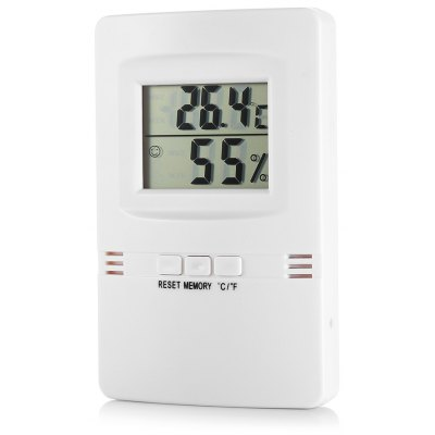 Indoor Thermometer Digital Temperature and Humidity Monitor