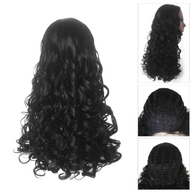 Women Curly Long Centre Parting Heat Resistant Synthetic HairSynthetic Wigs<br>Women Curly Long Centre Parting Heat Resistant Synthetic Hair<br><br>Advantage: Very Soft and Fashionable<br>Bang Type: Middle<br>Cap Size: Adjustable<br>Gender: Female<br>Lace Wigs Type: None Lace Wigs<br>Length: Long<br>Length Size(CM): 52<br>Material: Synthetic High Temperature Hair<br>Net Type: Rose Net<br>Package Contents: 1 x Wig<br>Package size (L x W x H): 15.00 x 5.00 x 21.00 cm / 5.91 x 1.97 x 8.27 inches<br>Package weight: 0.3050 kg<br>Style: Curly<br>Type: Full Wigs