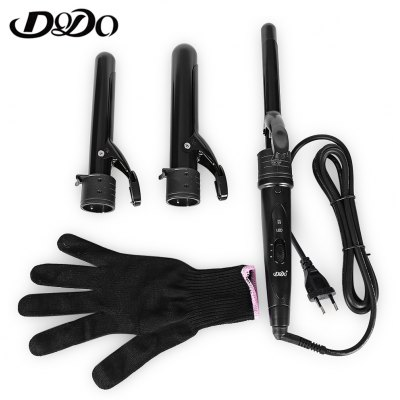 DODO 2819 Electric Interchangeable 3 in 1 Hair Curler Set