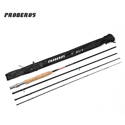 Proberos 2.7M Medium-fast Action Carbon Fly Rod