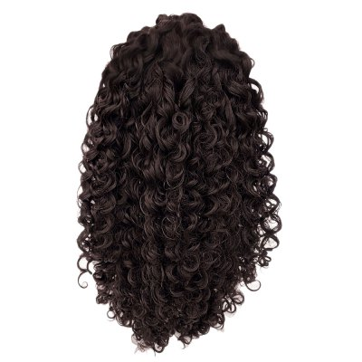 Women Curly Long Hair Lace Front Synthetic Heat Resistant Wig synthetic lace front wig heat resistance lace front wigs black short curly black wig