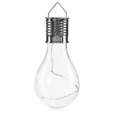 Solar Energy Copper Wire Bulb Hanging Lamp