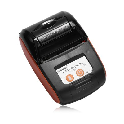 GOOJPRT PT - 210 58MM Mini Bluetooth Thermal PrinterPrinters<br>GOOJPRT PT - 210 58MM Mini Bluetooth Thermal Printer<br><br>Brand: GOOJPRT<br>Max. Resolution: 203DPI<br>Model Number: PT - 210<br>Package Contents: 1 x GOOJPRT PT - 210 58MM Bluetooth Thermal Printer, 1 x Paper Roll, 1 x Bag, 1 x USB Cable, 1 x Power Adapter, 1 x CD Driver, 1 x Bilingual User Manual in English and Chinese<br>Package Size(L x W x H): 15.20 x 13.80 x 8.30 cm / 5.98 x 5.43 x 3.27 inches<br>Package weight: 0.4750 kg<br>Product Size(L x W x H): 11.00 x 8.80 x 4.10 cm / 4.33 x 3.46 x 1.61 inches<br>Product weight: 0.2120 kg<br>Type: Thermal Sensitive Resistance