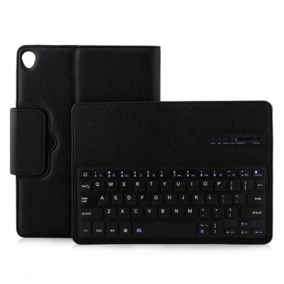 Bluetooth 3.0 Keyboard Leather Case for iPad Pro 10.5 inch 2017ipad Keyboards<br>Bluetooth 3.0 Keyboard Leather Case for iPad Pro 10.5 inch 2017<br><br>Package Contents: 1 x Bluetooth Keyboard Cover, 1 x Micro USB Charging Cable<br>Package Size(L x W x H): 30.00 x 20.00 x 3.00 cm / 11.81 x 7.87 x 1.18 inches<br>Package weight: 0.6000 kg<br>Product weight: 0.5450 kg