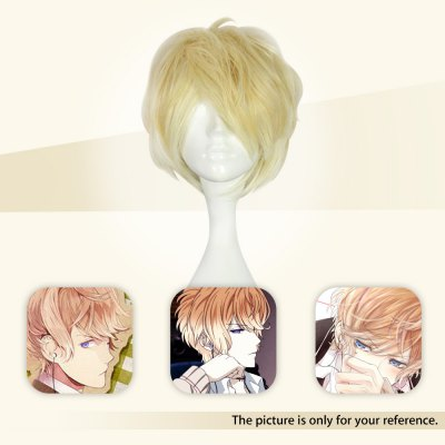 Mcoser Side Bang Short Curly Wig Cosplay for Sakamaki ShuCosplay Wigs<br>Mcoser Side Bang Short Curly Wig Cosplay for Sakamaki Shu<br><br>Bang Type: Side<br>Length: Short<br>Length Size(CM): 35<br>Length Size(Inch): 13.78<br>Material: Synthetic Hair<br>Package Contents: 1 x Anime Wig<br>Package size (L x W x H): 32.00 x 16.00 x 3.00 cm / 12.6 x 6.3 x 1.18 inches<br>Package weight: 0.1800 kg<br>Product size (L x W x H): 35.00 x 5.00 x 3.00 cm / 13.78 x 1.97 x 1.18 inches<br>Product weight: 0.1500 kg<br>Style: Curly<br>Type: Full Wigs