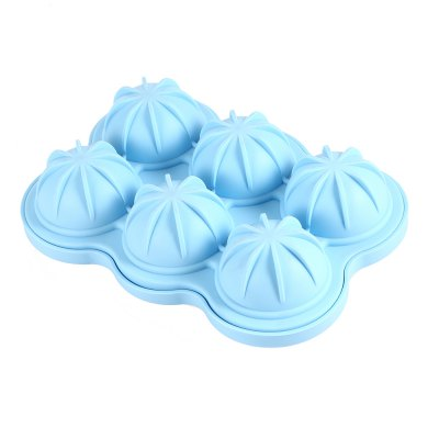 6 Cavity DIY Silicone Sphere Ice Cube Tray Frozen MoldIce Cream Tools<br>6 Cavity DIY Silicone Sphere Ice Cube Tray Frozen Mold<br><br>Package Contents: 1 x Ice Cube Tray Mold<br>Package Size(L x W x H): 17.50 x 12.50 x 6.00 cm / 6.89 x 4.92 x 2.36 inches<br>Package weight: 0.1690 kg<br>Product Size(L x W x H): 16.50 x 11.50 x 5.00 cm / 6.5 x 4.53 x 1.97 inches<br>Product weight: 0.1460 kg