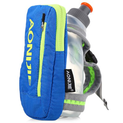 AONIJIE Outdoor 250ML Running Handheld Water Bottle PackOther Camping Gadgets<br>AONIJIE Outdoor 250ML Running Handheld Water Bottle Pack<br><br>Package Contents: 1 x Water Bottle, 1 x Pack<br>Package Size(L x W x H): 15.50 x 9.00 x 2.50 cm / 6.1 x 3.54 x 0.98 inches<br>Package weight: 0.0700 kg<br>Product weight: 0.0470 kg