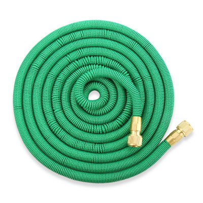 Garden Expandable Magic Water Hose 25 / 50 / 75 / 100ftWatering &amp; Irrigation<br>Garden Expandable Magic Water Hose 25 / 50 / 75 / 100ft<br><br>Material: Brass, Plastic, Polyester, TPE<br>Package Contents: 1 x Water Hose, 1 x English User Manual<br>Package Size(L x W x H): 22.00 x 22.00 x 9.00 cm / 8.66 x 8.66 x 3.54 inches<br>Package weight: 1.1940 kg<br>Product weight: 1.0620 kg