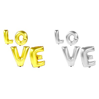Wedding Decoration Letters Balloons