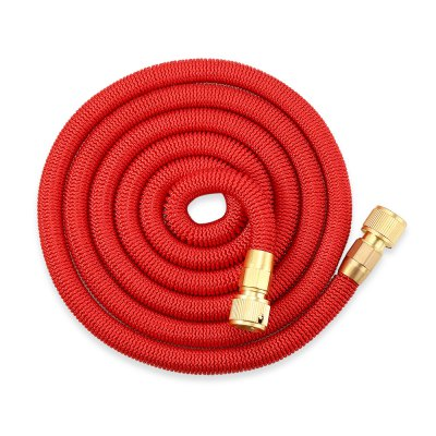 Garden Expandable Magic Water Hose 25 / 50 / 75 / 100ftWatering &amp; Irrigation<br>Garden Expandable Magic Water Hose 25 / 50 / 75 / 100ft<br><br>Material: Brass, Plastic, Polyester, TPE<br>Package Contents: 1 x Water Hose, 1 x English User Manual<br>Package Size(L x W x H): 19.00 x 19.00 x 8.00 cm / 7.48 x 7.48 x 3.15 inches<br>Package weight: 0.8070 kg<br>Product weight: 0.6730 kg