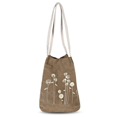 Guapabien Flower Print Canvas Handbag Bucket Shoulder BagWomens Bags<br>Guapabien Flower Print Canvas Handbag Bucket Shoulder Bag<br><br>Closure Type: Magnetic Closure<br>Embellishment: Flowers<br>Exterior: None<br>Gender: For Women<br>Handbag Type: Shoulder bag<br>Hardness: Soft<br>Interior: Interior Zipper Pocket<br>Lining Material: Polyester<br>Main Material: Canvas<br>Number of Handles / Straps: Two<br>Package Contents: 1 x Shoulder Bag<br>Package size (L x W x H): 26.00 x 19.00 x 7.00 cm / 10.24 x 7.48 x 2.76 inches<br>Package weight: 0.3460 kg<br>Pattern Type: Print<br>Product size (L x W x H): 26.00 x 17.50 x 33.50 cm / 10.24 x 6.89 x 13.19 inches<br>Product weight: 0.3250 kg<br>Shape: Bucket<br>Strap Length: 69cm ( length of one strap )<br>Style: Casual<br>Weight: 0.6920kg<br>With Pendant: No