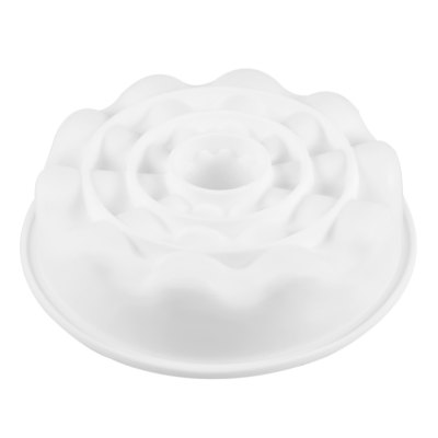 White Silicone Dessert Baking MoldBaking &amp; Pastry Tools<br>White Silicone Dessert Baking Mold<br><br>Cake Tools Type: Moulds<br>Material: Silicone<br>Package Contents: 1 x Cake Mold<br>Package Size(L x W x H): 28.50 x 25.00 x 5.50 cm / 11.22 x 9.84 x 2.17 inches<br>Package weight: 0.1750 kg<br>Product Size(L x W x H): 20.10 x 20.10 x 5.00 cm / 7.91 x 7.91 x 1.97 inches<br>Product weight: 0.1610 kg