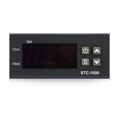 STC - 1000 Embedded Microcomputer Temperature ControllerTesters &amp; Detectors<br>STC - 1000 Embedded Microcomputer Temperature Controller<br><br>Package Contents: 1 x Microcomputer Temperature Controller, 1 x English Manual<br>Package Size(L x W x H): 10.00 x 8.00 x 6.00 cm / 3.94 x 3.15 x 2.36 inches<br>Package weight: 0.2330 kg<br>Product Size(L x W x H): 8.50 x 7.40 x 3.30 cm / 3.35 x 2.91 x 1.3 inches<br>Product weight: 0.1890 kg