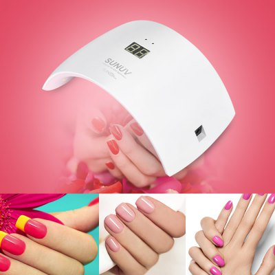 UVLED SUN9S PLUS LED / UV Nail Gel Lamp Smart PhototherapyNail Tools<br>UVLED SUN9S PLUS LED / UV Nail Gel Lamp Smart Phototherapy<br><br>Item Type: Nail Art Equipments<br>Package Content: 1 x Nail Lamp, 1 x Power Adapter, 1 x USB Cable<br>Package Size ( L x W x H ): 21.50 x 12.80 x 9.00 cm / 8.46 x 5.04 x 3.54 inches<br>Package weight: 0.4600 kg<br>Product Size(L x W x H): 21.20 x 12.00 x 7.50 cm / 8.35 x 4.72 x 2.95 inches<br>Product weight: 0.3300 kg<br>Rated Current (A): 0.5<br>Rated Voltage (V): AC 100 - 240V, 50 / 60Hz