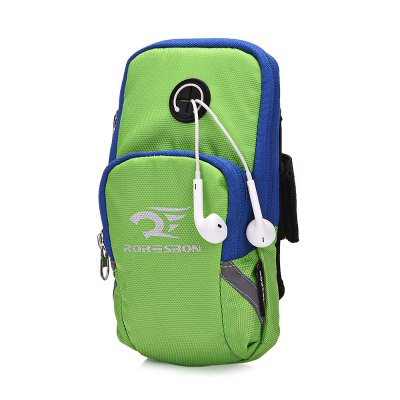 ROBESBON Sports Phone Bag Armband CaseArm Bags<br>ROBESBON Sports Phone Bag Armband Case<br><br>Package Contents: 1 x Arm Bag<br>Package Size(L x W x H): 22.00 x 13.00 x 3.00 cm / 8.66 x 5.12 x 1.18 inches<br>Package weight: 0.0750 kg<br>Product weight: 0.0610 kg