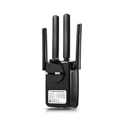 PIX - LINK LV - AC05 WiFi Range ExtenderWireless Routers<br>PIX - LINK LV - AC05 WiFi Range Extender<br><br>Brand: PIX - LINK<br>Model Number: LV - AC05<br>Number of USB Interfaces: No Support<br>Package Contents: 1 x PIX - LINK LV - AC05 WiFi Range Extender, 1 x Power Adapter, 1 x RJ45 Cable, 1 x English User Manual<br>Package Size(L x W x H): 20.00 x 10.50 x 7.50 cm / 7.87 x 4.13 x 2.95 inches<br>Package weight: 0.2600 kg<br>Product Size(L x W x H): 18.00 x 8.50 x 7.00 cm / 7.09 x 3.35 x 2.76 inches<br>Product weight: 0.1160 kg<br>Standards and Protocols: Wi-Fi 802.11a,Wi-Fi 802.11b / g / n<br>Supports WPS: Yes<br>Type: Wireless<br>VPN: Yes<br>WAN Ports: 1<br>Wi-Fi Supported Frequency: 2.4G and 5G<br>Wired Transfer Rate: 10/100Mbps<br>Wireless: Yes