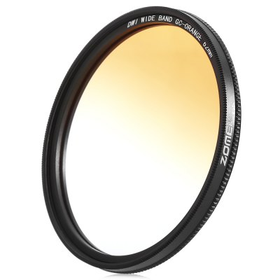 Zomei GC - SLIM Professional 62mm Graduated Color FilterLens<br>Zomei GC - SLIM Professional 62mm Graduated Color Filter<br><br>Package Contents: 1 x Lens Filter, 1 x Storage Box<br>Package Size(L x W x H): 11.50 x 2.00 x 13.50 cm / 4.53 x 0.79 x 5.31 inches<br>Package weight: 0.0960 kg<br>Product weight: 0.0140 kg