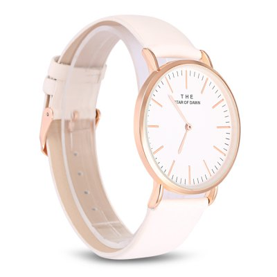 Stylish Lady Quartz Wrist WatchWomens Watches<br>Stylish Lady Quartz Wrist Watch<br><br>Band Length: 20.2<br>Band Length Unit: cm<br>Band Material Type: Leather<br>Band Width: 2cm<br>Case material: Alloy<br>Case Shape: Round<br>Dial Diameter: 4<br>Dial Diameter Unit: cm<br>Dial Display: Analog<br>Dial Window Material Type: Glass<br>Gender: Women<br>Movement: Quartz<br>Package Contents: 1 x Watch<br>Package Size(L x W x H): 26.00 x 5.00 x 1.00 cm / 10.24 x 1.97 x 0.39 inches<br>Package weight: 0.0450 kg<br>Product Size(L x W x H): 24.20 x 4.50 x 0.70 cm / 9.53 x 1.77 x 0.28 inches<br>Product weight: 0.0290 kg<br>Style: Business, Fashion &amp; Casual, Simple