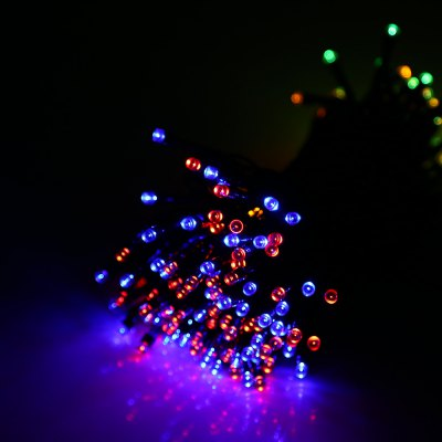 Solar Powered Waterproof 200 LEDs String Lamp LightLED Strips<br>Solar Powered Waterproof 200 LEDs String Lamp Light<br><br>Package Contents: 1 x String Lamp with Solar Panel, 1 x Anchor Spike<br>Package Size(L x W x H): 13.50 x 10.00 x 9.00 cm / 5.31 x 3.94 x 3.54 inches<br>Package weight: 0.3830 kg<br>Product weight: 0.3020 kg