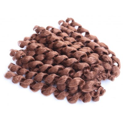 Boutique Short Curly Braid Women Synthetic Hair Extension