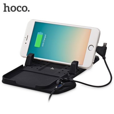 HOCO CA1 Car Dashboard Silicone Magnetic Charging Holder