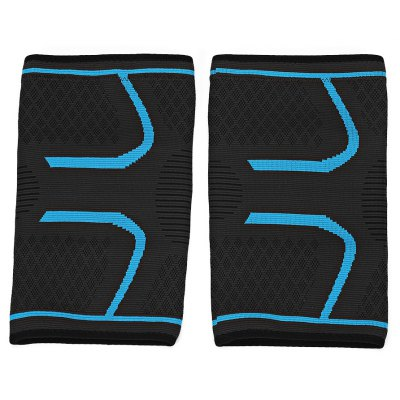 Paired Outdoor Sport Nylon Knee Compression Sleeve