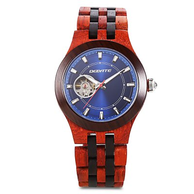 BEDATE ZS - W138A Mechanical Men Wood WatchMens Watches<br>BEDATE ZS - W138A Mechanical Men Wood Watch<br><br>Band Length: 7.17 inch<br>Band Material Type: Wooden<br>Band Width: 20mm<br>Case material: Wooden<br>Case Shape: Round<br>Case Thickness: 0.39 inch<br>Clasp type: Butterfly Clasp<br>Dial Diameter: 1.65 inch<br>Dial Display: Analog<br>Dial Window Material Type: Sapphire<br>Feature: Luminous<br>Gender: Men<br>Movement: Mechanical Hand Wind<br>Package Contents: 1 x Watch<br>Package Size(L x W x H): 12.00 x 12.00 x 11.00 cm / 4.72 x 4.72 x 4.33 inches<br>Package weight: 0.4550 kg<br>Product Size(L x W x H): 23.00 x 4.80 x 1.00 cm / 9.06 x 1.89 x 0.39 inches<br>Product weight: 0.0830 kg<br>Style: Simple<br>Water Resistance Depth: 30m