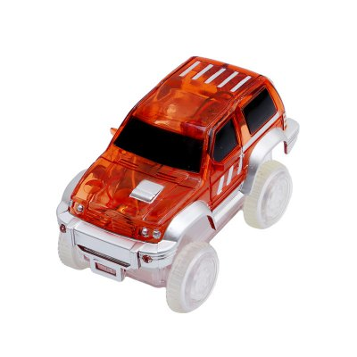 LED Race Car Toy for Gleamy Tracks Toys SetNovelty Toys<br>LED Race Car Toy for Gleamy Tracks Toys Set<br><br>Age Range: &gt; 3 years old<br>Material: Plastic<br>Package Contents: 1 x Race Car Toy<br>Package Size(L x W x H): 10.00 x 5.00 x 5.00 cm / 3.94 x 1.97 x 1.97 inches<br>Package weight: 0.0850 kg<br>Product Size(L x W x H): 8.50 x 4.00 x 4.50 cm / 3.35 x 1.57 x 1.77 inches<br>Product weight: 0.0600 kg