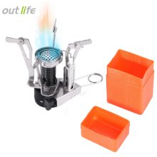 Outlife Camping Gas Burner with Adjustable Switch