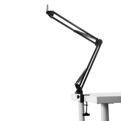 NB - 35 Microphone Stand Suspension Boom Scissor ArmSpeakers<br>NB - 35 Microphone Stand Suspension Boom Scissor Arm<br><br>Model Number: NB - 35<br>Package Contents: 1 x Microphone Stand, 1 x Shock Mount, 1 x Pedestal, 1 x Screw<br>Package Size(L x W x H): 42.00 x 11.50 x 4.70 cm / 16.54 x 4.53 x 1.85 inches<br>Package weight: 0.6090 kg<br>Product Size(L x W x H): 40.00 x 1.50 x 3.50 cm / 15.75 x 0.59 x 1.38 inches<br>Product weight: 0.3630 kg