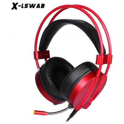 XLSWAB M9 LED Light Stereo Gaming Headset with Mic