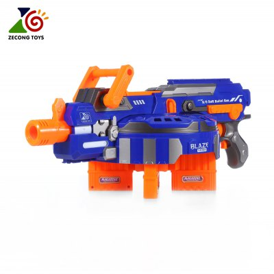 ZECONG TOYS 7032 Electric 48 Soft Bullet Gun Pistol Toy