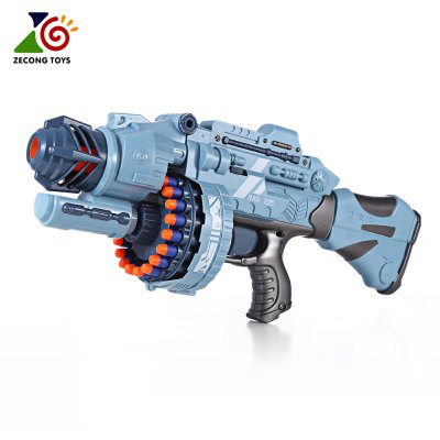 ZECONG TOYS 7076 Electric 20 Soft Bullet Gun Pistol Toy