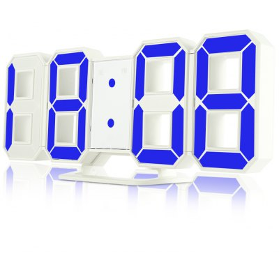 3D LED Digital Alarm Clocks