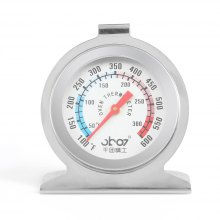 Stainless Steel Pointer Type Oven Thermometer